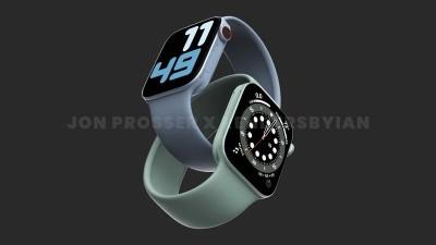Apple Watch Series 7 sẽ có kích thước lớn hơn 41mm và 45mm