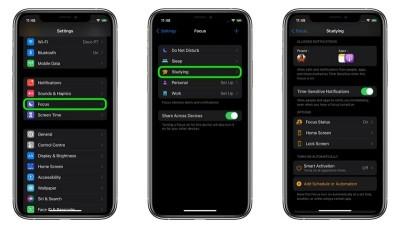 iOS 15: Hướng dẫn cách tạo Focus đơn giản trên iPhone