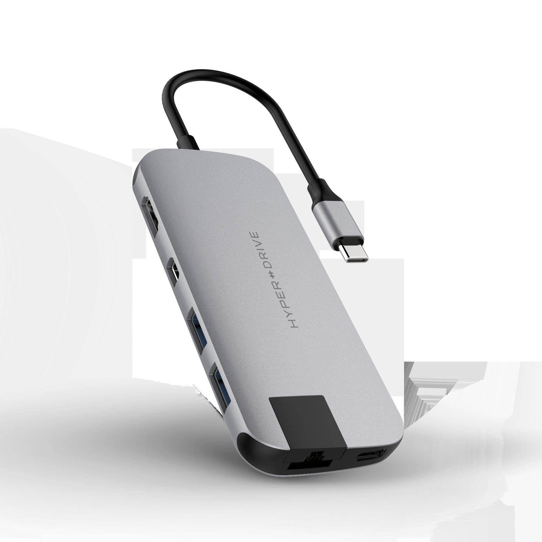 HYPERDRIVE SLIM 8 IN 1 USB-C HUB