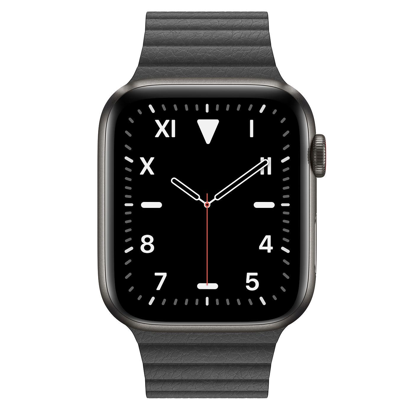 Apple Watch Series 5 (Titanium Black,GPS)