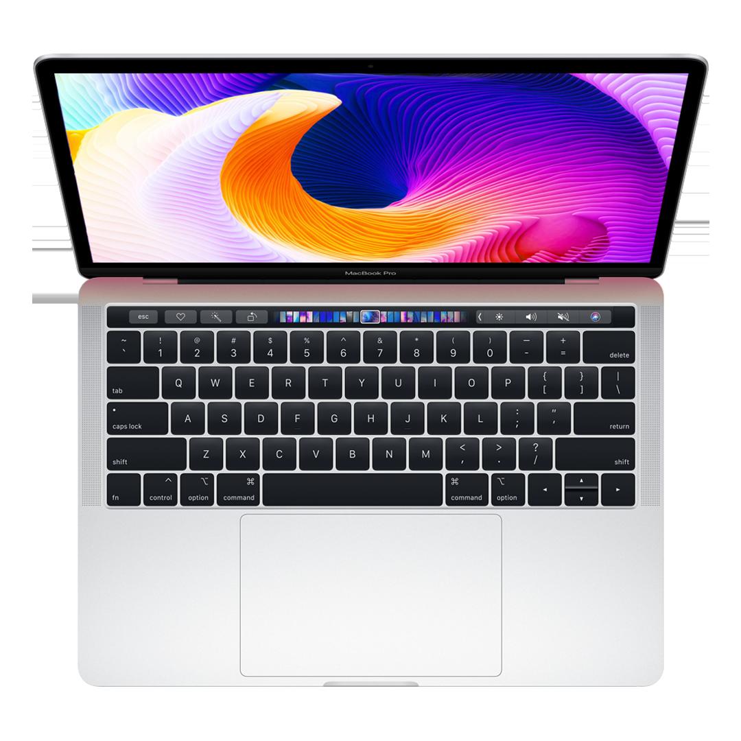 Macbook Pro Touchbar 13'' 2019 - 256GB SSD MUHP2 -MUHR2( Gray , Sliver ) new 99%