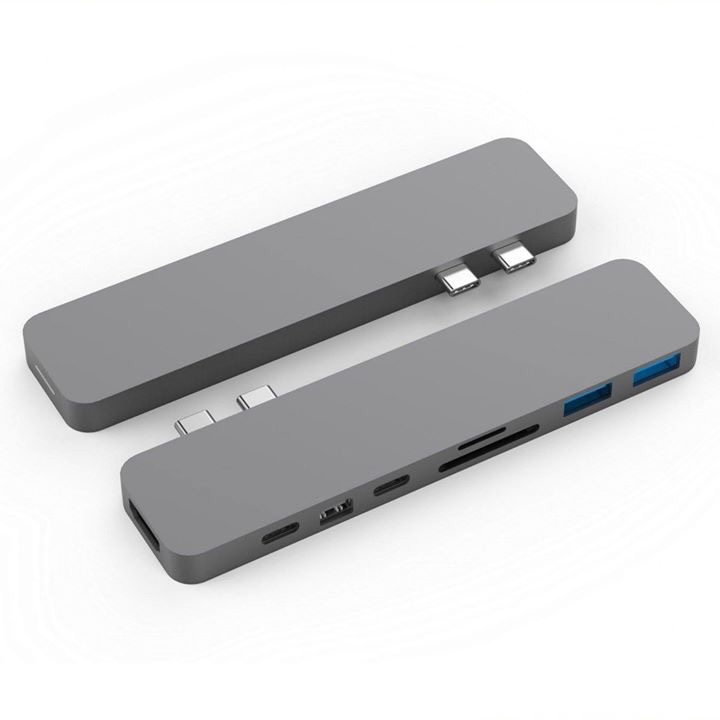 HYPER PRO USB Type C - 8 IN 2 ( New 2018 ) For Macbook 13, 15 Inch 2016-2017