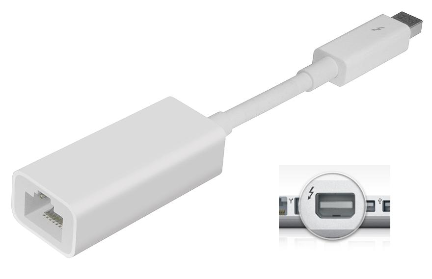 Apple Thunderbolt to Gigabit Ethernet Adaptor