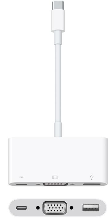 APPLE - USB-C VGA Multiport Adapter