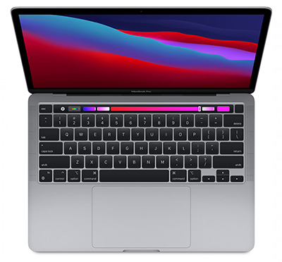 MYDA2 - MacBook Pro 2020 13 Inch - Apple M1 8-Core / 8GB / 256GB - Silver (Chính hãng SA/A)