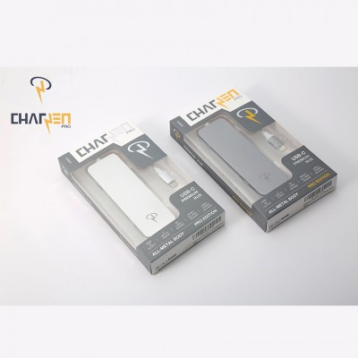 BỘ CHIA CỔNG CHARJENPRO USB-C COMBO 7 IN 1