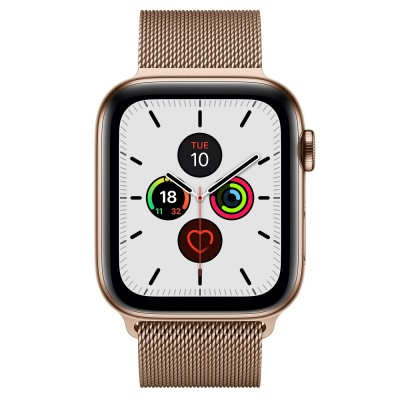 Apple Watch Series 5 Gold Stainless Steel