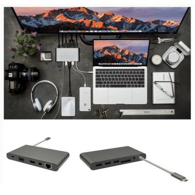 Bộ chuyển đổi Hyperdrive USB-C Ultimate USB Hub for MacBook Pro 2016/2017
